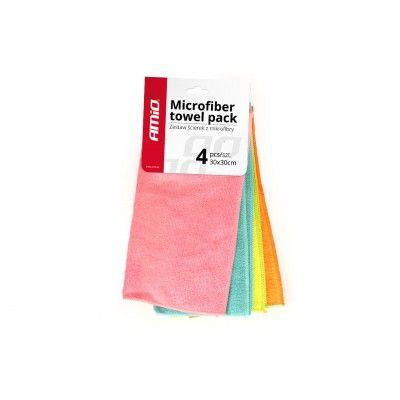 Set 4 Lavete Microfibra