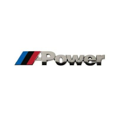 Emblema Crom M-Power 3D