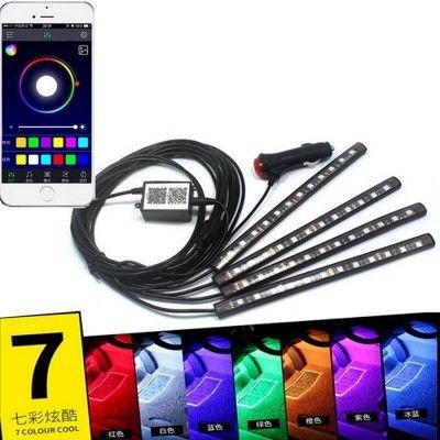 Lumina Ambientala Led RGB cu Bluetooth
