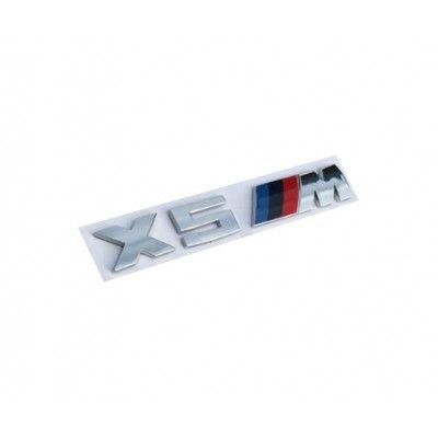 Emblema X5 M Crom
