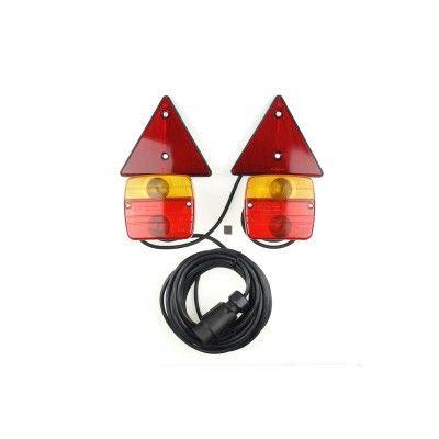 Lampi magnetice pentru remorca