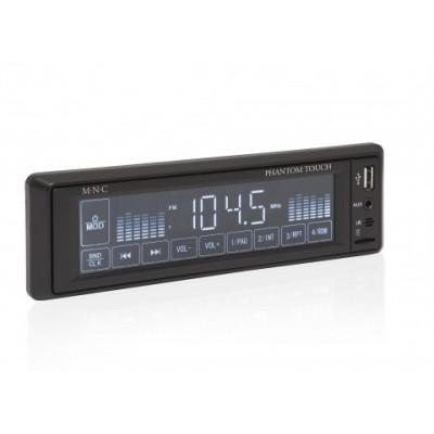 Phantom Touch - Radio auto cu player MP3 USB/SD/MMC, AUX