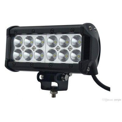 """LED Bar Auto Offroad 36W/12V-24V, 3060 Lumeni, 7""""/17 cm, Spot Beam 12 Grade"""