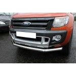 "Bara protectie fata City Bar inox Ford Ranger T6 2012, 2013, 2014, 2015 3""/76mm FDA923"