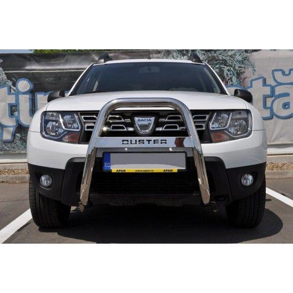 """Bullbar inox inalt Dacia Duster 2,5""""/64mm RNA0063"""