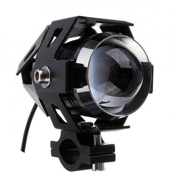 """Proiector LED ATV, Moto de 2"""" cu 2 faze si functie Stroboscop, putere 10W, 3000Lm"""