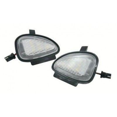 Lampi LED Undermirror VW Golf 6, Golf 6 Gti 2009~, Golf Cabriolet 2012~, Touran 2010~