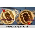 Led auto PSX24 80W 12-24V Leduri CREE 750 Lm