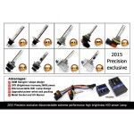 Set 2 becuri H11 xenon premium