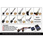 Set 2 becuri H3 xenon premium