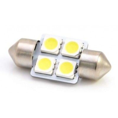 Led auto sofit cu 4 SMD 31 mm