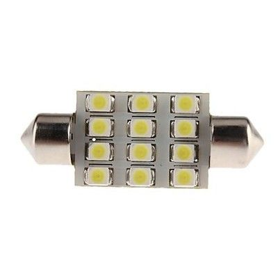 Led auto sofit cu 12 SMD 36 mm