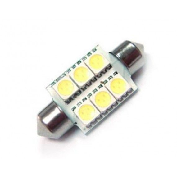 Led auto sofit cu 6 SMD 36 mm
