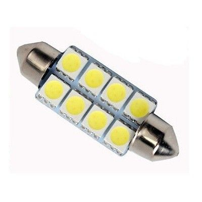 Led auto sofit cu 8 SMD 41 mm