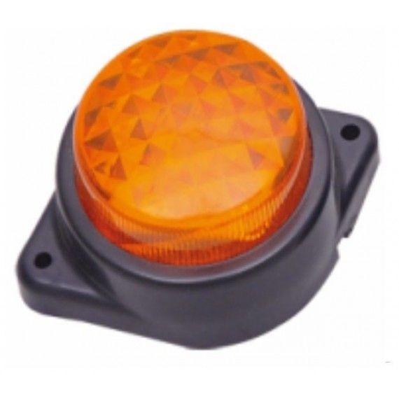 Lampa laterala cu LED 12V Galbena 124Y12V