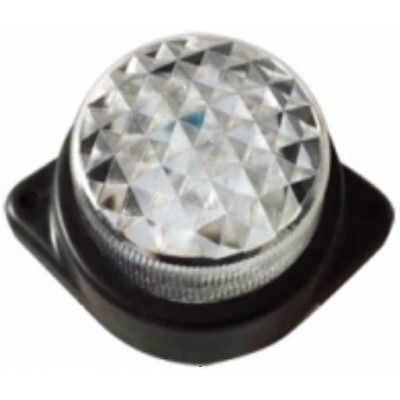 Lampa laterala cu LED 24V Alba 124W24V