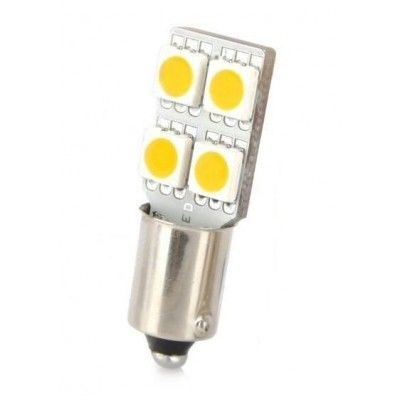 Led auto BA9S Canbus cu 4 SMD