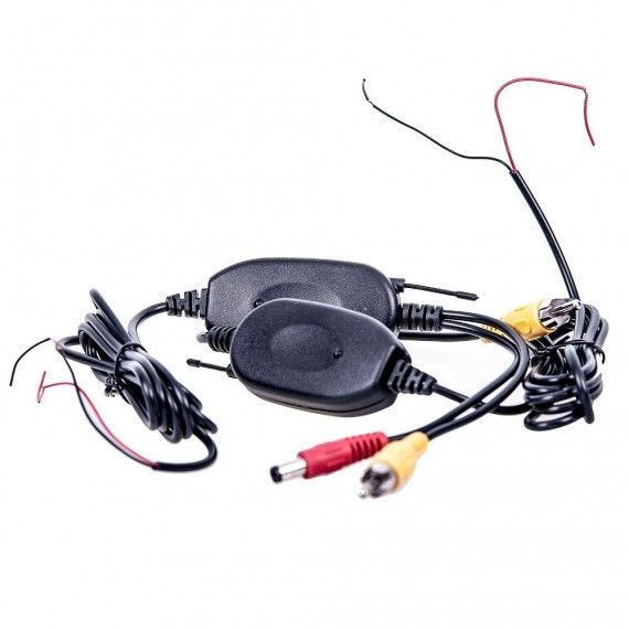 Kit wireless 2.4G pentru camera marsarier 12V