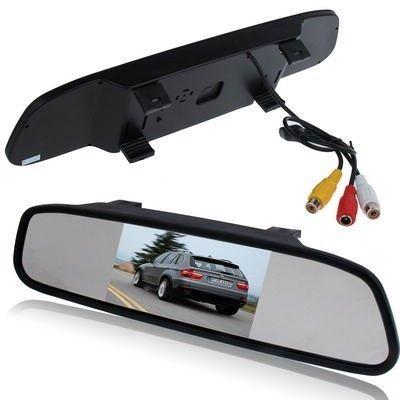 Display auto LCD 4.3 inch D703 pe oglinda retrovizoare