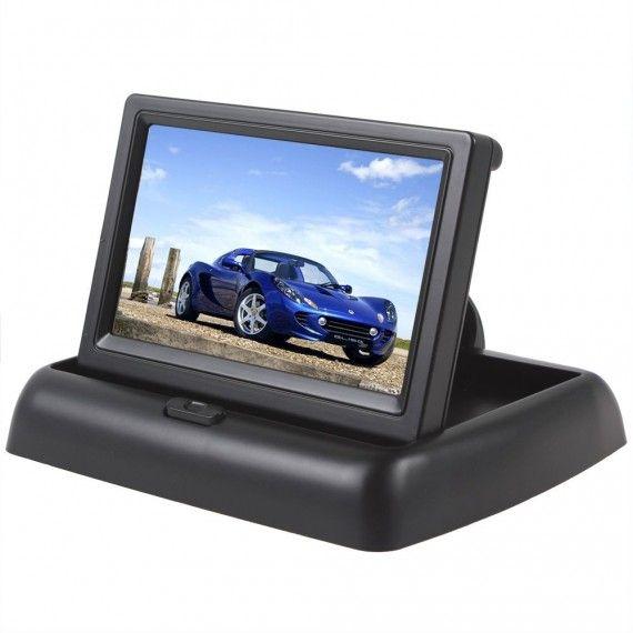 Display auto LCD 4.3 inch D704 pliabil