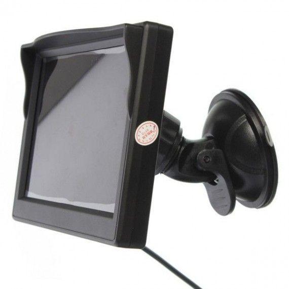 Display auto LCD de 5 inch  D706-B cu ventuza pentru parbriz