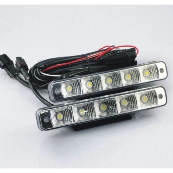 Lumini de zi DRL 5led*1W - Off when headlight on
