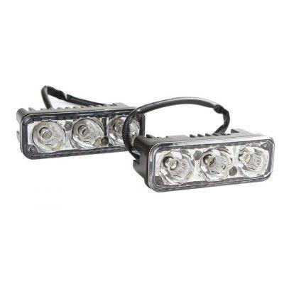 Lumini de zi DRL 3 led-3W 12V-24V Epistar
