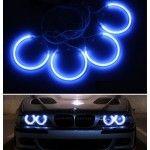 Kit Angel Eyes CCFL BMW E46 cu xenon de fabrica Albastru
