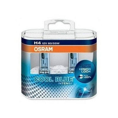 Set 2 becuri H4 Osram Cool Blue Intense