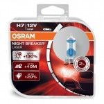 Set 2 becuri H7 Osram Night Breaker LASER - 130%