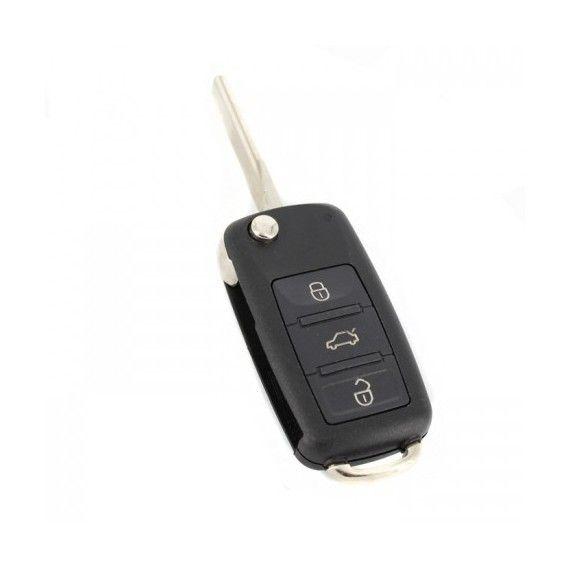 Carcasă cheie tip briceag - 3 butoane - Audi A8