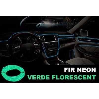 Fir Neon Verde Florecent  - Lungime 5M