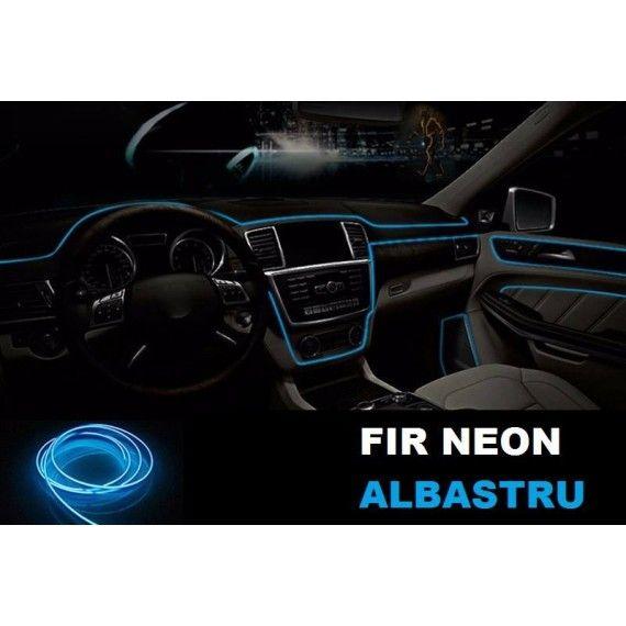 Fir Neon Albastru - Lungime 5M