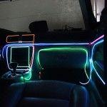 Fir Neon Verde - Lungime 5M