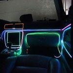 Fir Neon Verde - Lungime 2M