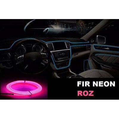 Fir Neon Roz - Lungime 2M