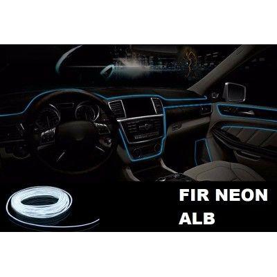 Fir Neon Alb - Lungime 2M