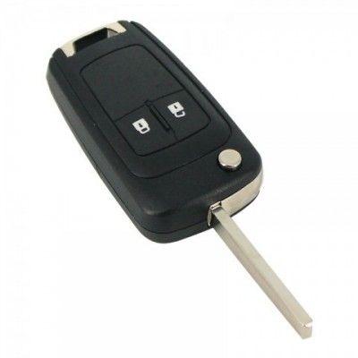 Carcasa cheie tip briceag 2 butoane - Chevrolet