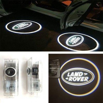 Set 2 Proiectoare Logo Dedicate Land Rover