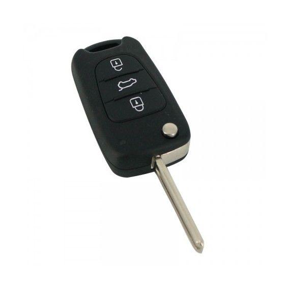 Carcasă cheie tip briceag - 3 butoane - Hyundai i30 / ix35