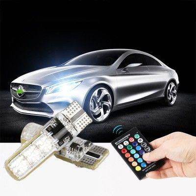 Becuri Led pozitie RGB cu telecomanda