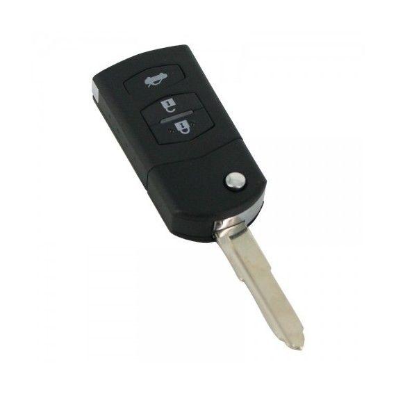 Carcasă cheie tip briceag, 3 butoane - Mazda
