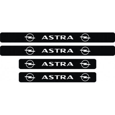 Set protectie praguri Opel Astra (v1)