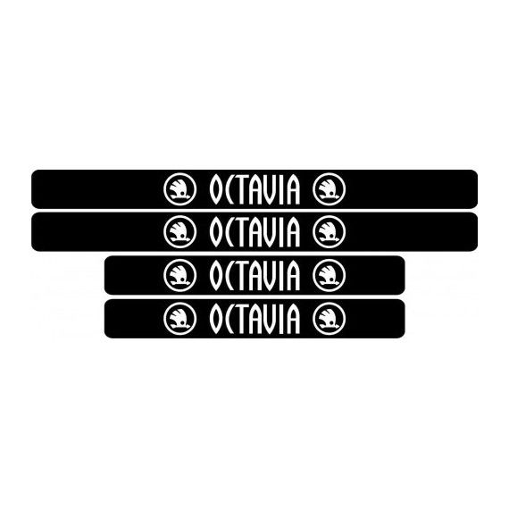 Set protectie praguri Skoda Octavia