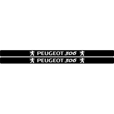 Set protectie praguri Peugeot 306
