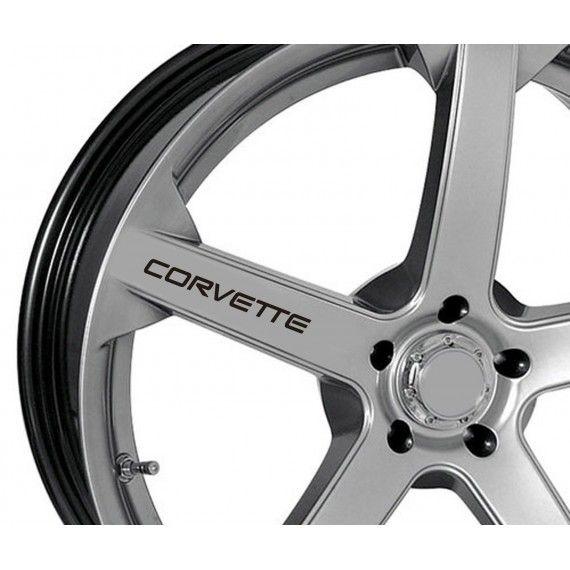 Sticker jante - Corvette (set 4 buc.)