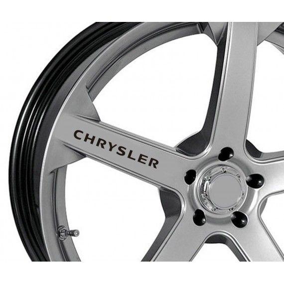 Sticker jante - Chrysler (set 4 buc.)