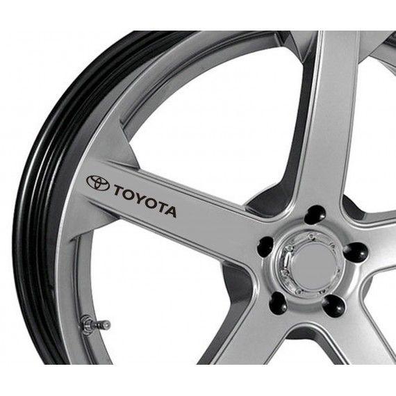 Sticker jante - Toyota (set 4 buc.)