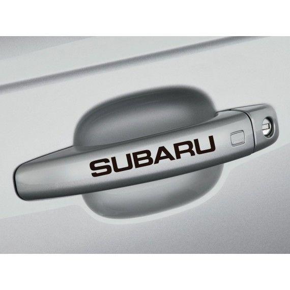 Sticker manere usa - Subaru (set 4 buc.)