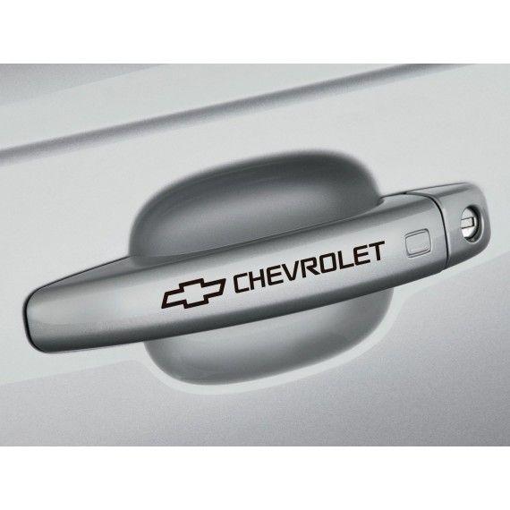 Sticker manere usa - Chevrolet (set 4 buc.)